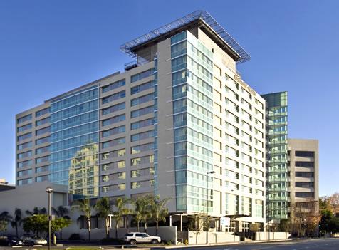 embassy suites glendale glendale california owen group inc. Black Bedroom Furniture Sets. Home Design Ideas