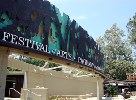 FESTIVAL OF ARTS FAÇADE AND GROUND UPGRADES LAGUNA BEACH, CALIFORNIA
