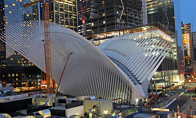 World Trade Center Port Authority Transportation Hub (PATH) Design Review